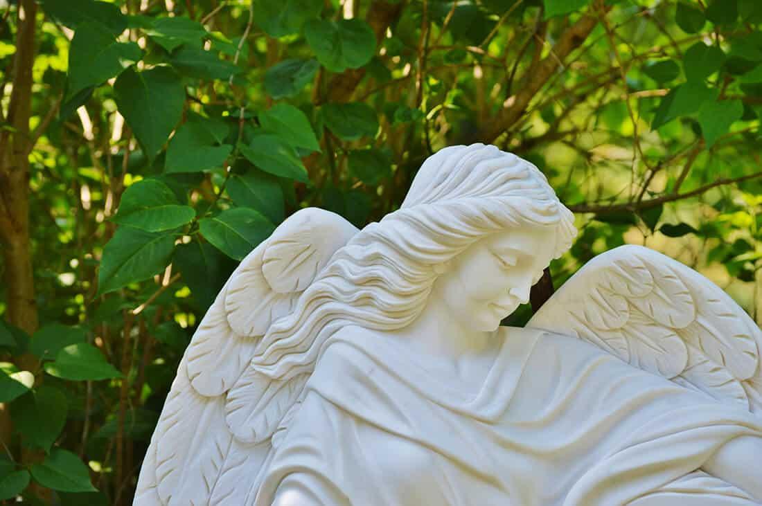 Gartenskukptur Engel