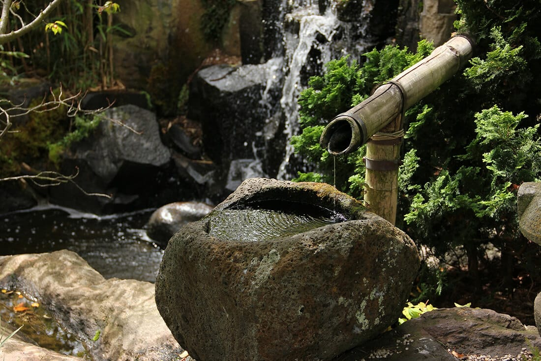 Japanischer Zierbrunnen