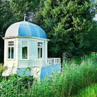 Pavillon als Gartenhaus