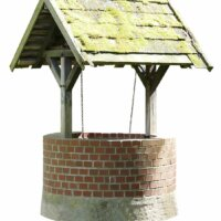 Traditioneller Brunnen