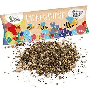 Eine Grafik zu Saatgut für die Bienenwiese