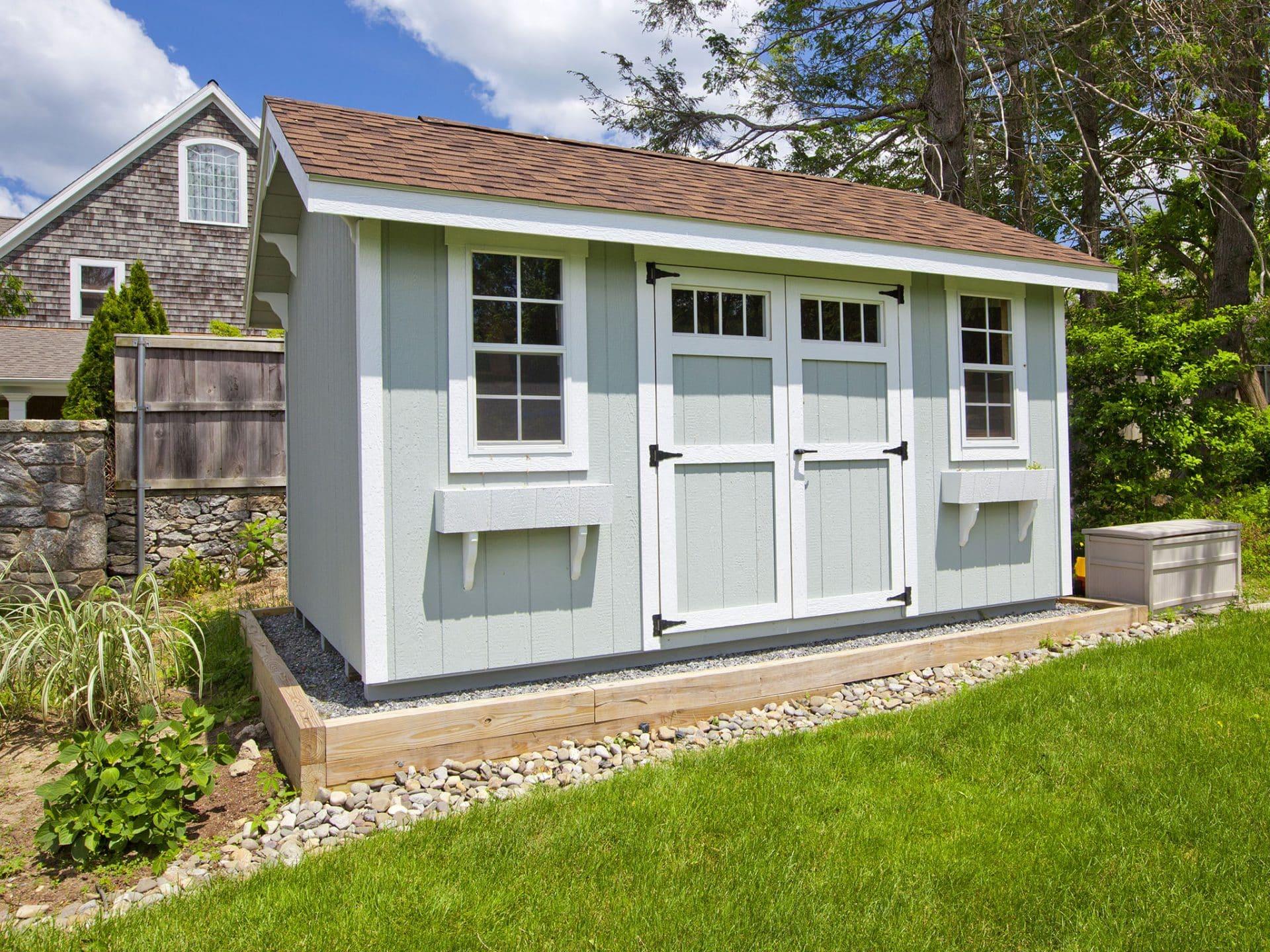 Top Gartenhaus-Fenster selber einbauen - Anleitung & Kosten im Überblick FY78