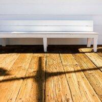 Terrassendielen im Used-Look