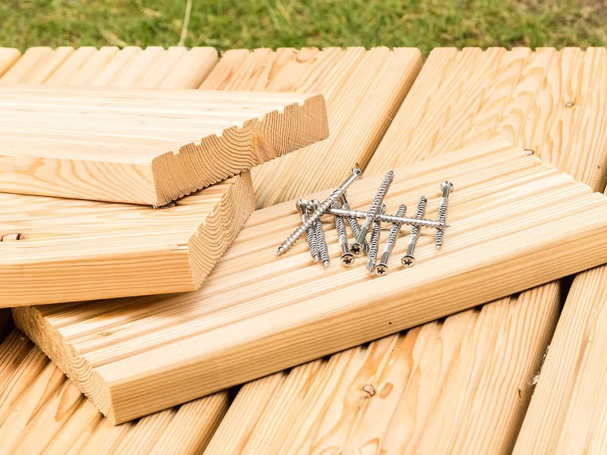 Favorit Terrassendielen verlegen - aus WPC, Holz & Co. + Anleitung & Kosten QO14