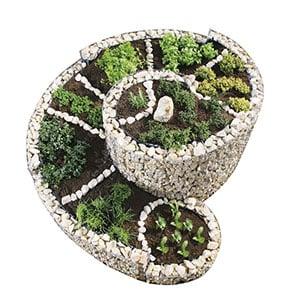 Kräuterspiralen & Kräuterschnecken