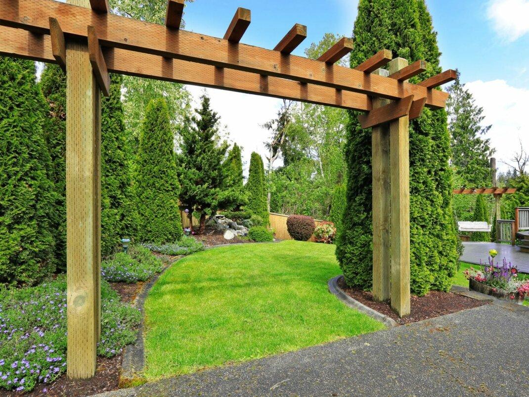 Pergola Aus Holz Selber Bauen Uberdachung Fur Ihre Terrasse