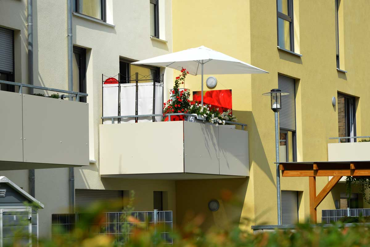 Balkon Sichtschutz 25 Ideen Aus Bambus Holz Kunststoff Co