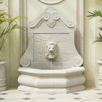 Gartenbrunnen ab