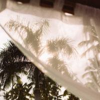 Sonnenschutz auf dem Balkon