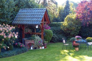 Eine Grafik zu 20 moderne & klassische Gartendeko-Ideen