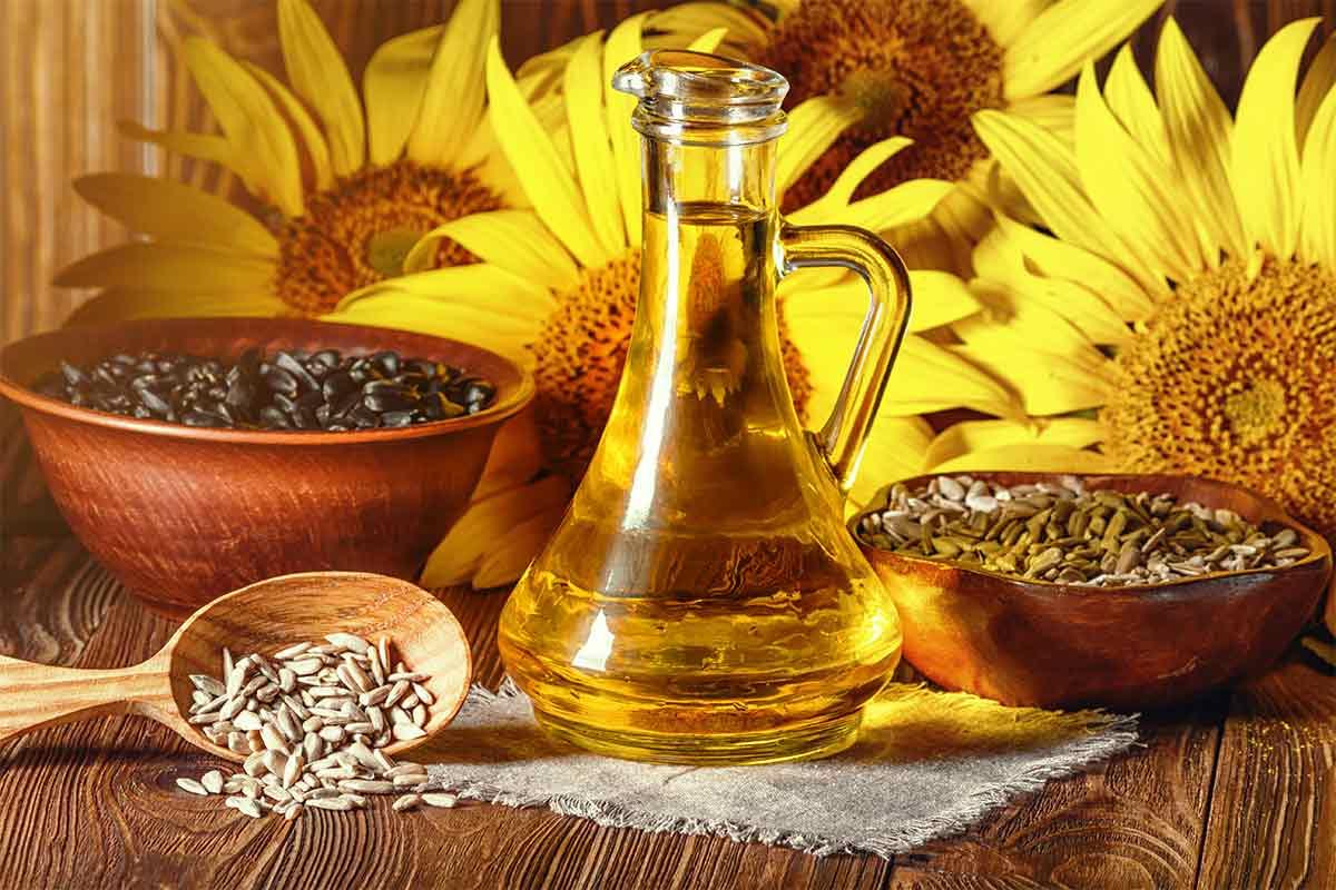 Sonnenblumenkerne & Sonnenblumenöl