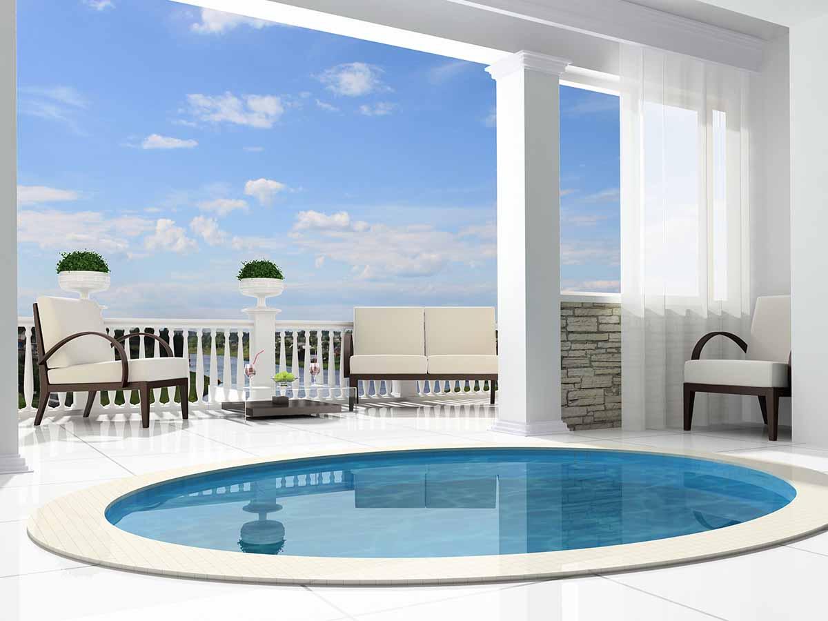Runder GfK-Pool