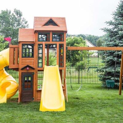 Ein Spiel-Paradies im Garten