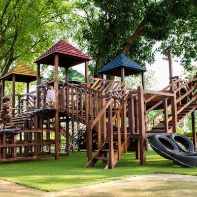 Ein großartiger Abenteuerspielplatz