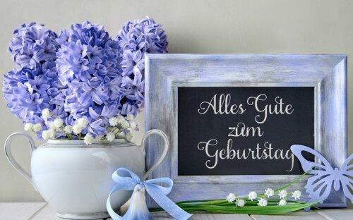 """""""Alles Gute zum Geburtstag"""" – Vorlagen für herzliche Glückwünsche + andere Sprachen"""