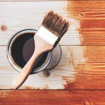Eine Grafik zu Holz mit Lack schützen!