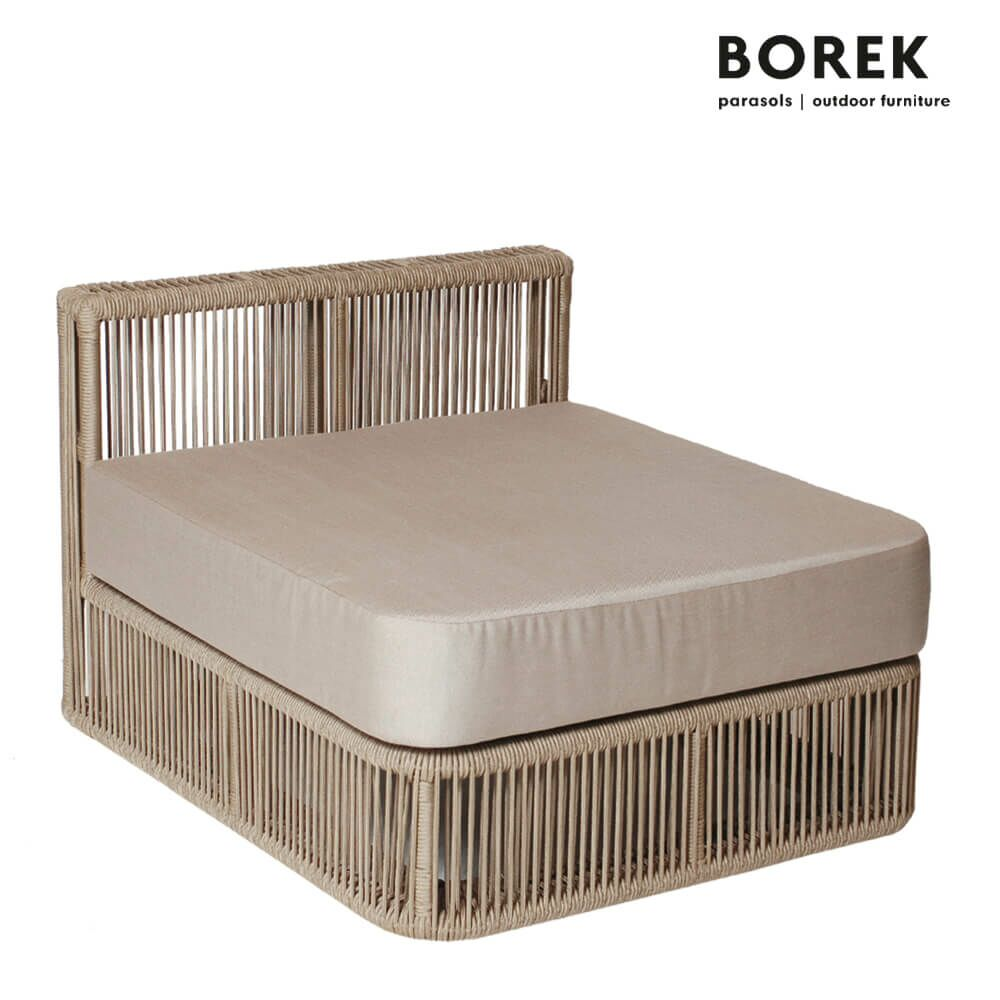gartenlounge modul mitte lincoln alu. Black Bedroom Furniture Sets. Home Design Ideas
