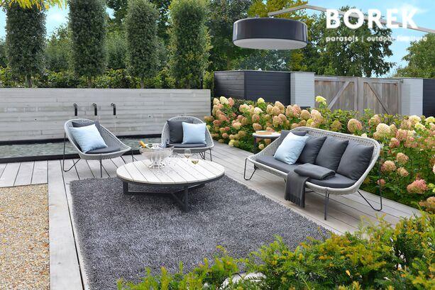 ... Gartensofa Von Borek   Edelstahl   Mit Polster Auflage   Grau   Pasturo  Sofa