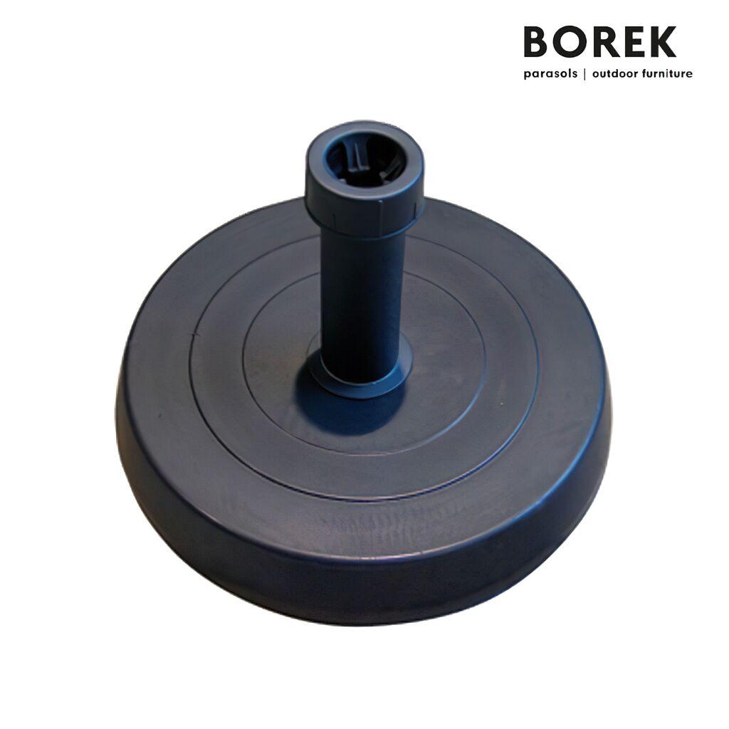 Beton Schirmstander Grau Borek 25kg Gartentraum De