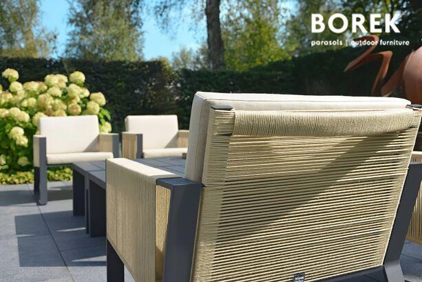 polster kissen f r gartenstuhl modena grau. Black Bedroom Furniture Sets. Home Design Ideas