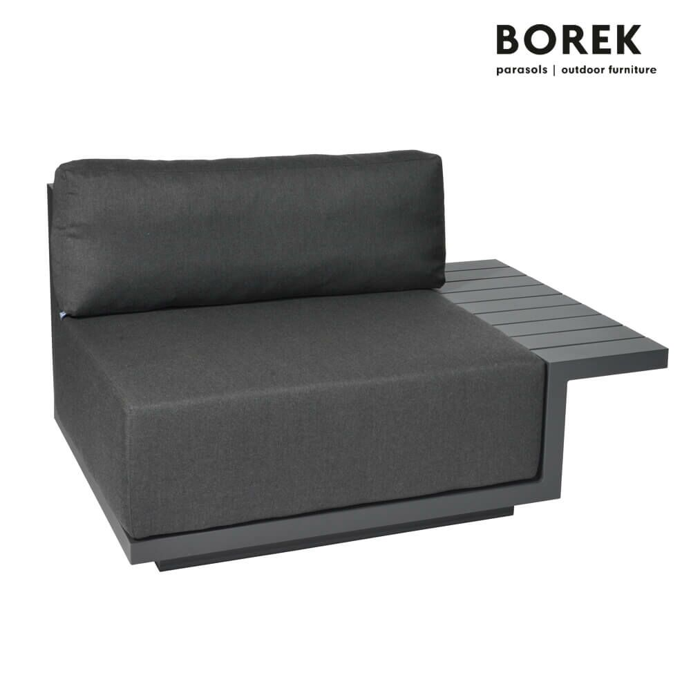 borek loungemodul murcia mit kissen. Black Bedroom Furniture Sets. Home Design Ideas