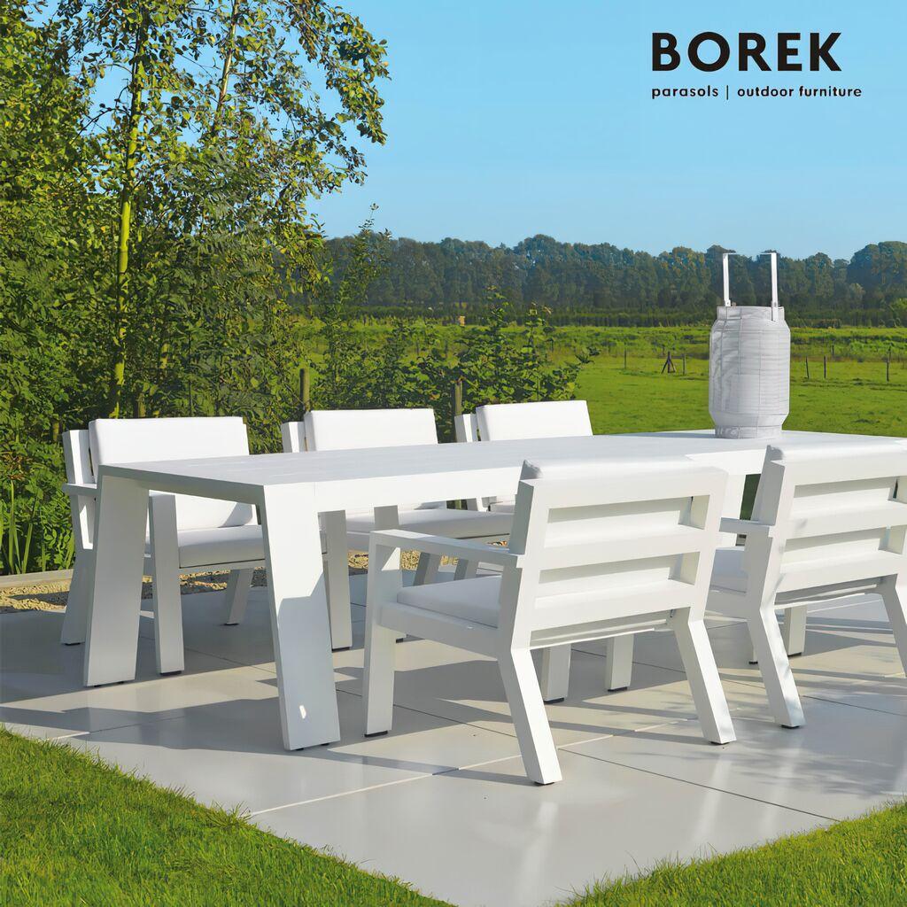 Borek design gartentisch viking aus alu - Gartentisch design ...