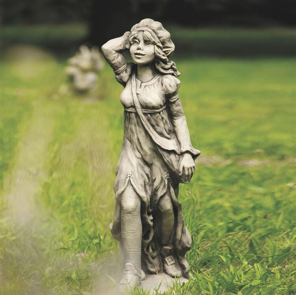 Lustige Garten Steingussfigur Gerodine Gartentraumde