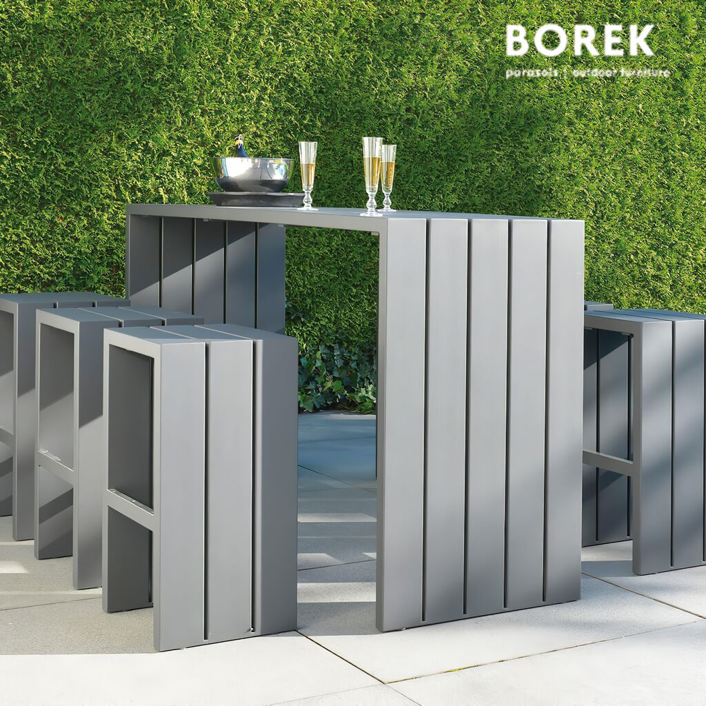 outdoor bartisch mit hockern f r garten terrasse. Black Bedroom Furniture Sets. Home Design Ideas