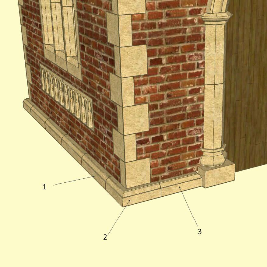 garten pavillon aus stein drayton garden. Black Bedroom Furniture Sets. Home Design Ideas