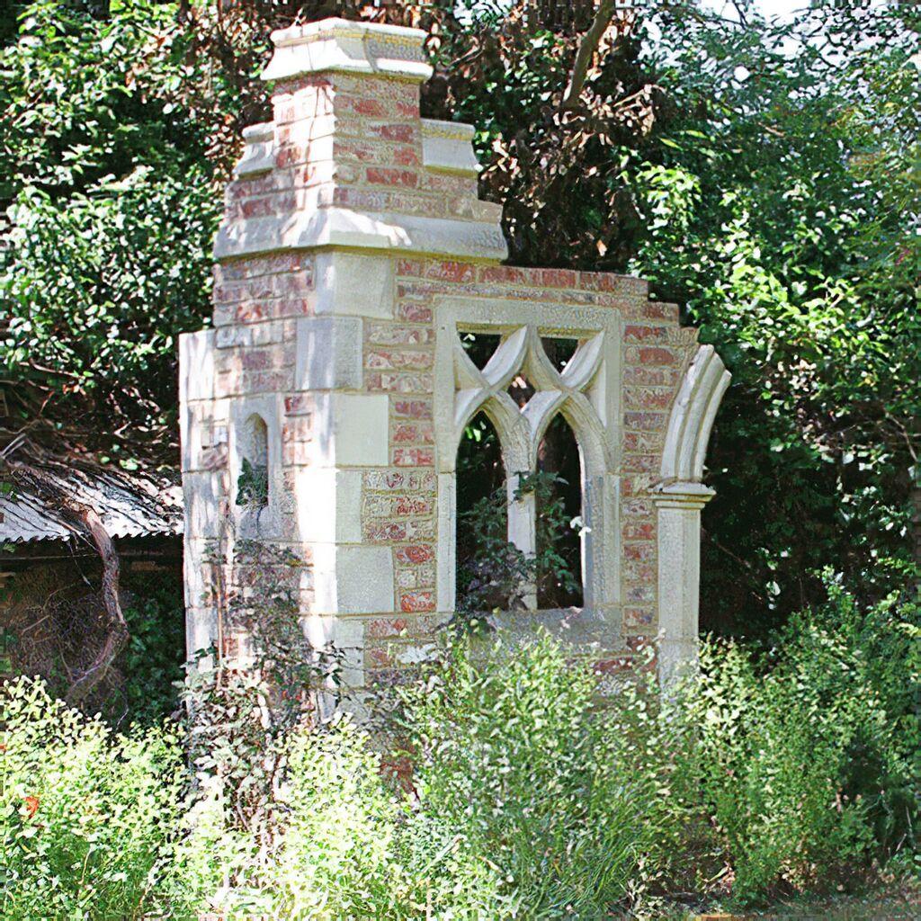 Deko Garten Ruine Aus England Shurdington Castle
