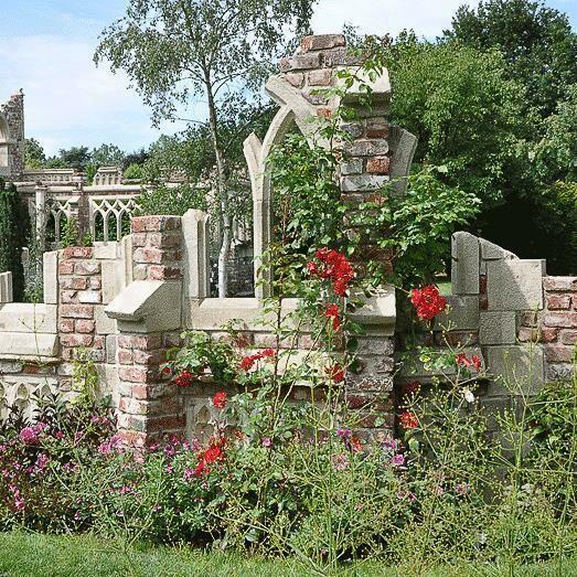 deko ruine f r den garten steynton castle. Black Bedroom Furniture Sets. Home Design Ideas