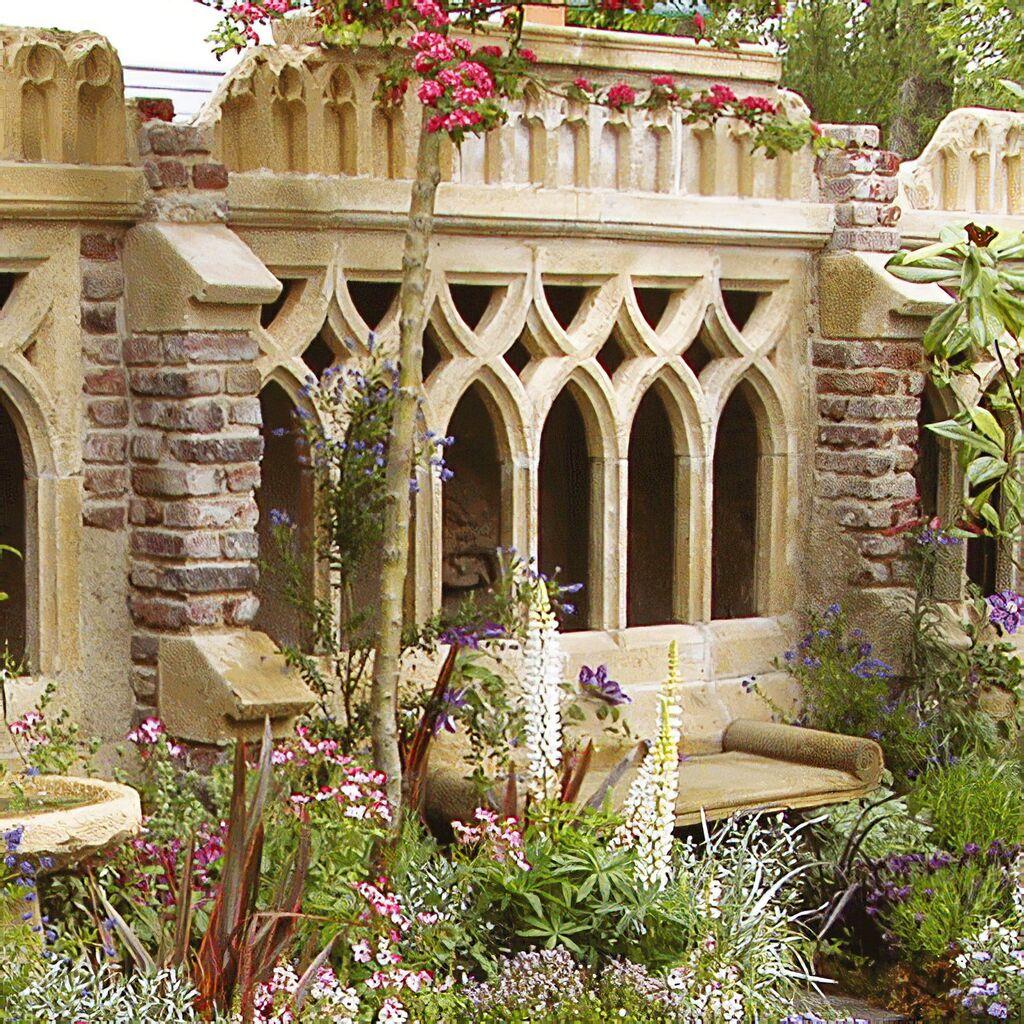 Antike Deko Garten Ruine - Newcastle Cloister • Gartentraum.de