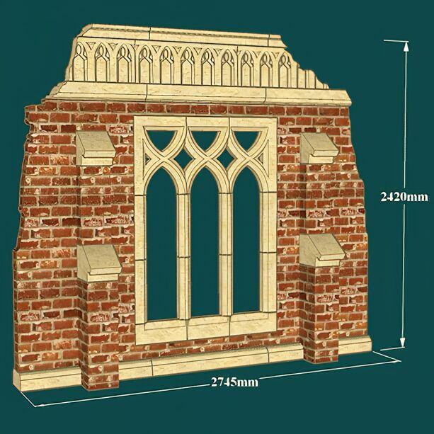 antike deko garten ruine newcastle cloister