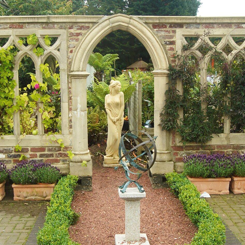 Deko Garten Stein Ruine Whitestone Abbey.