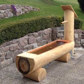 Brunnen Holz.Traditionelle Holz Brunnen Mit Wow Effekt Kaufen