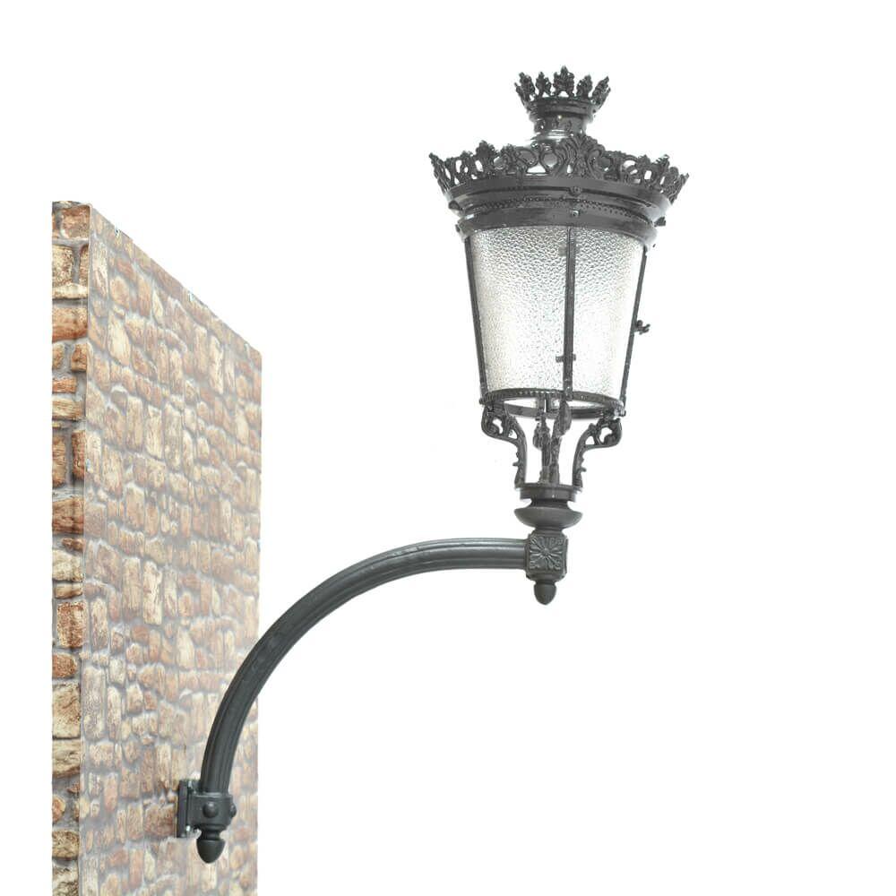 Nostalgische wandlampe aminta f r drau en for Nostalgische gartendekoration