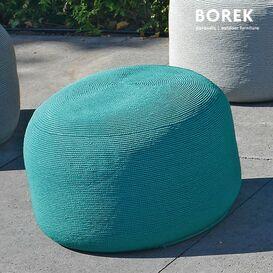 rundes outdoor sitzkissen crochette navy. Black Bedroom Furniture Sets. Home Design Ideas