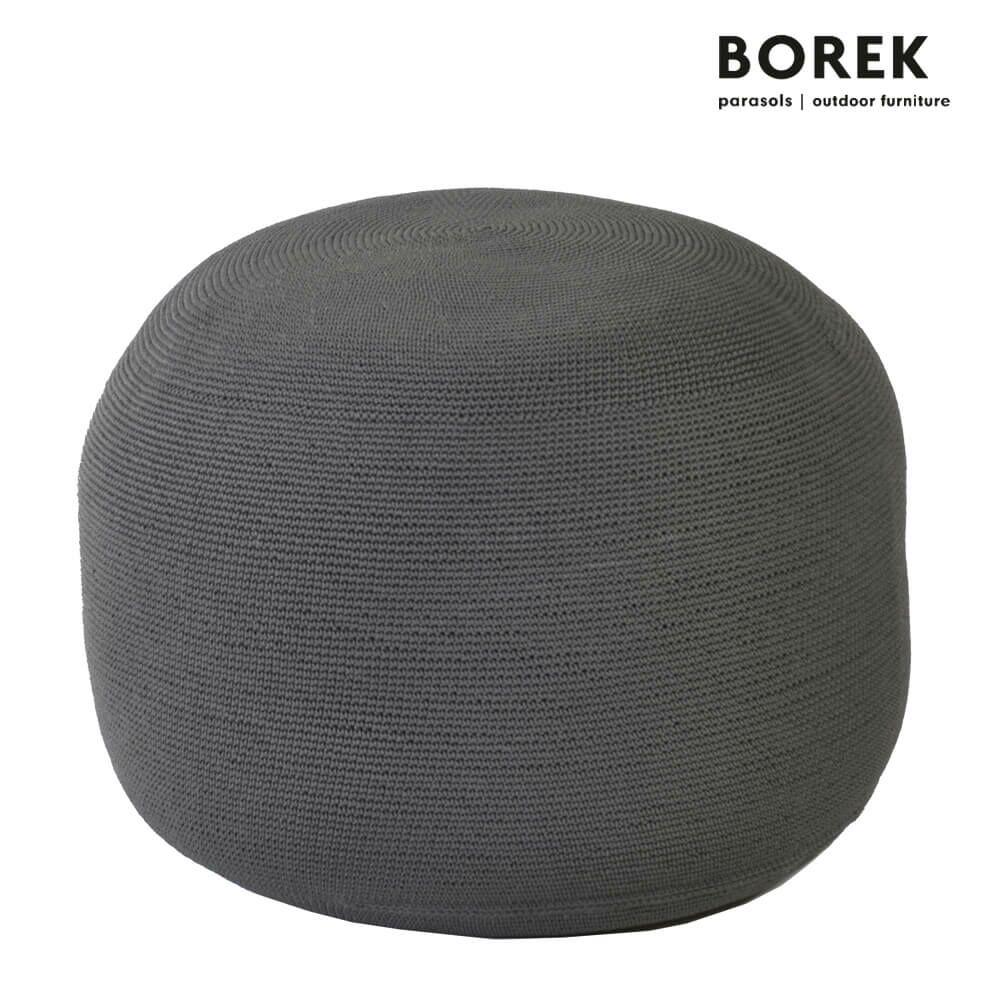 outdoor pouf crochette von borek anthrazit. Black Bedroom Furniture Sets. Home Design Ideas