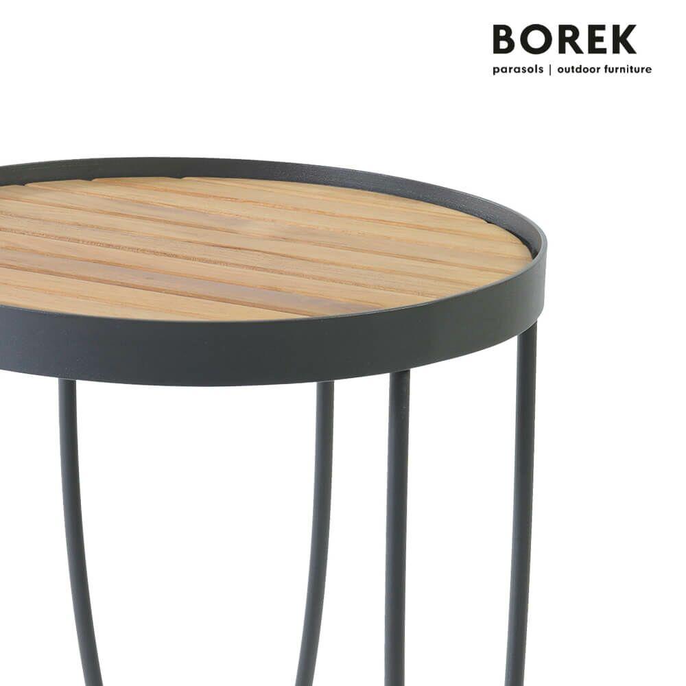 runder beistelltisch pesaro f r drau en. Black Bedroom Furniture Sets. Home Design Ideas