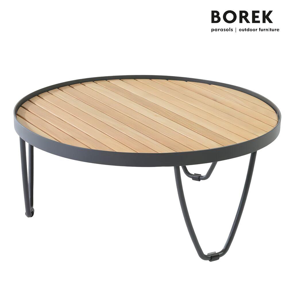 outdoor couchtisch pesaro von borek rund. Black Bedroom Furniture Sets. Home Design Ideas