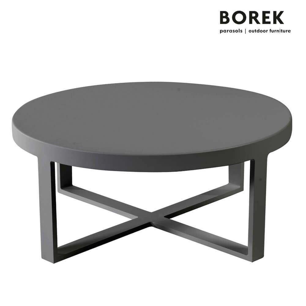 Runder Loungetisch Fur Draussen Borek Aluminium Modern Force Couchtisch