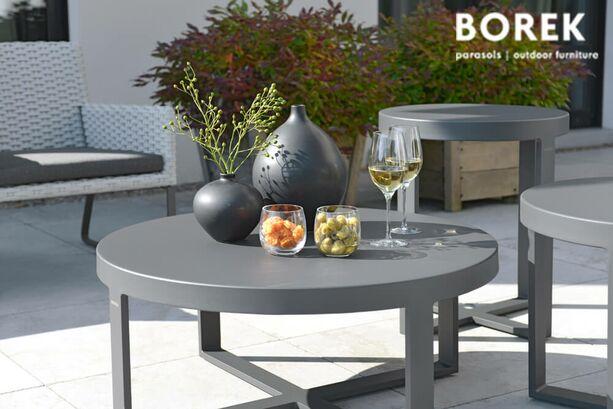 runder loungetisch force f r drau en. Black Bedroom Furniture Sets. Home Design Ideas