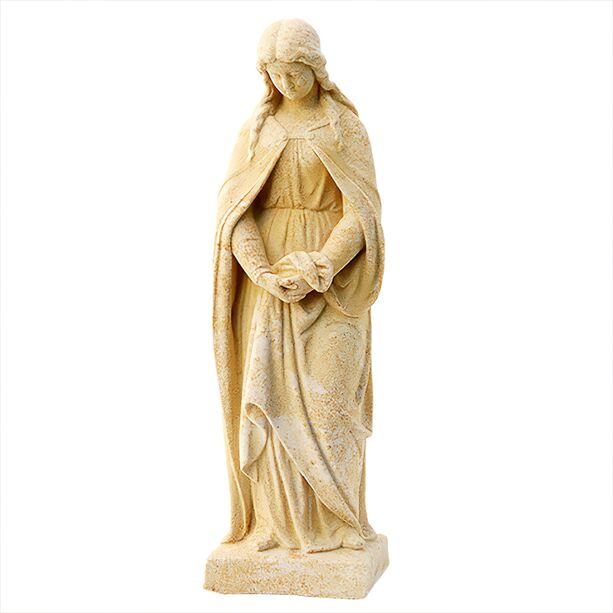 Steinguss Maria Skulptur frostsicher »\