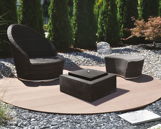 quadratischer dekobrunnen quadrangolo. Black Bedroom Furniture Sets. Home Design Ideas