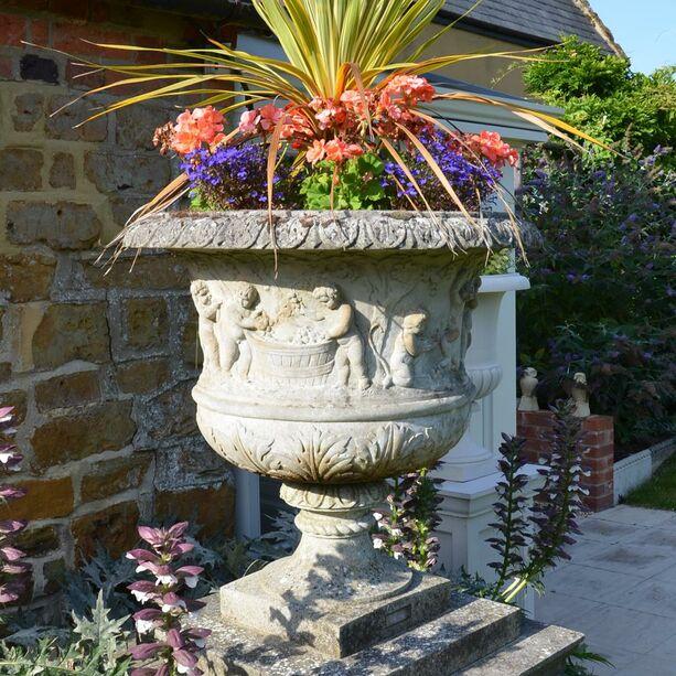 Garten Pflanztopf antik - Pavenham Manor • Gartentraum.de