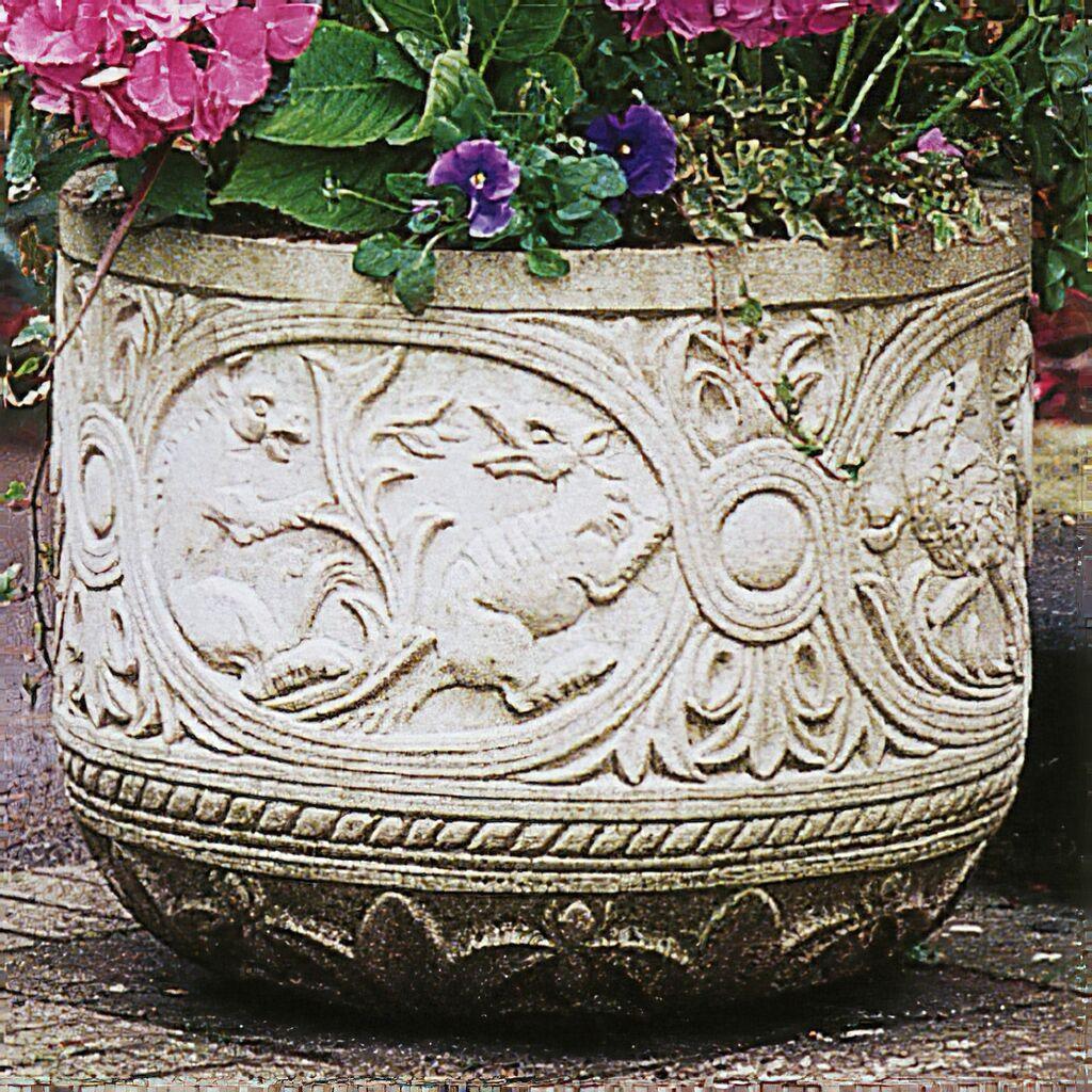 Antik Pflanzgefäß groß - Silsoe Manor • Gartentraum.de