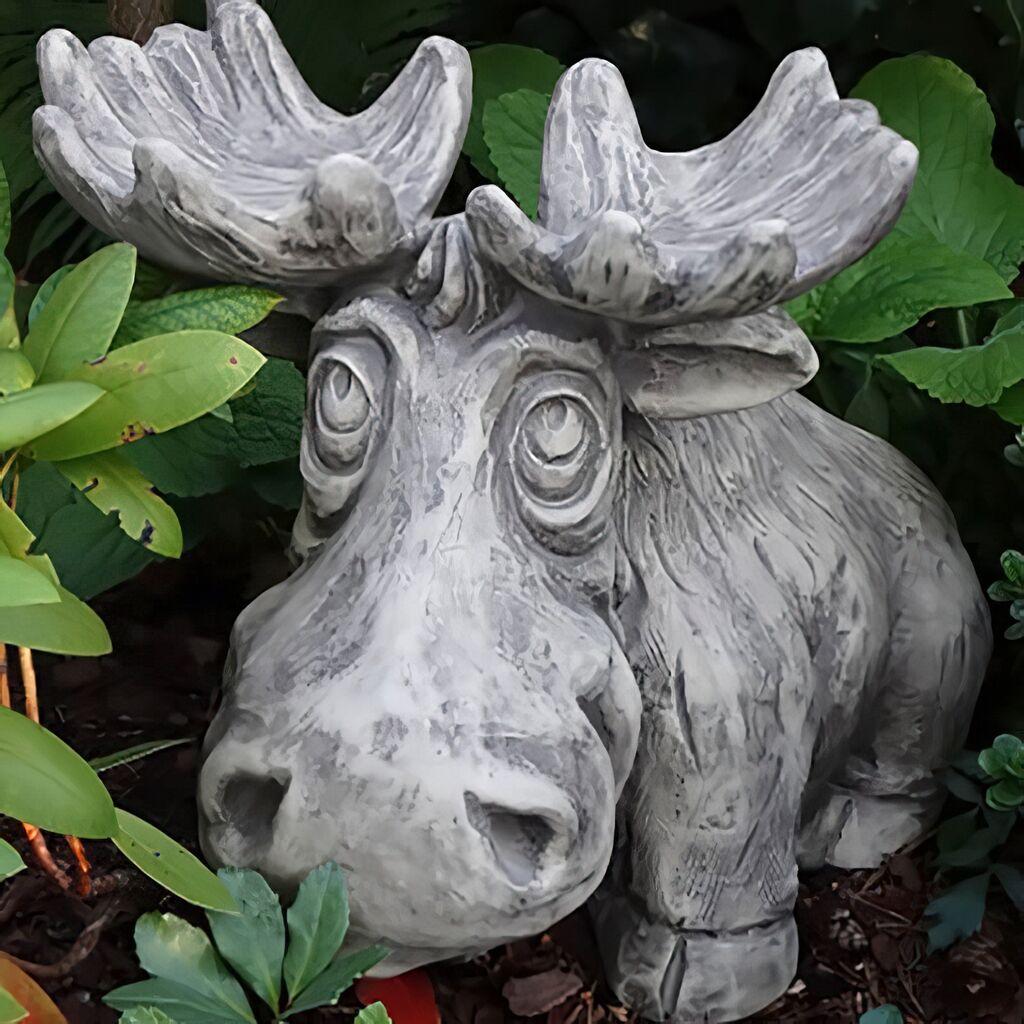 Elch Figur Außergewöhnlich Dekoration Deko Idee Garten Dekoration