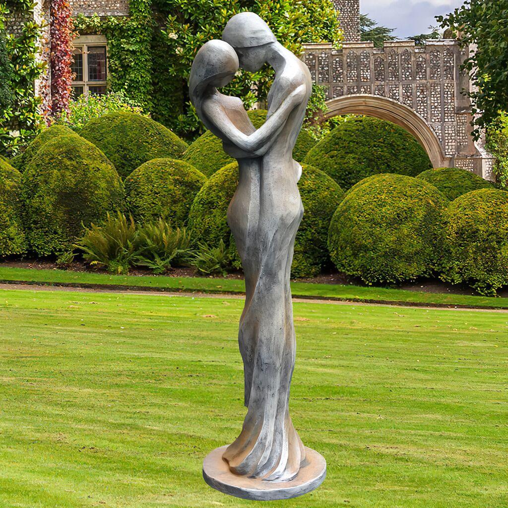 Edle Skulptur Carissimi Mann Und Frau Gartentraumde