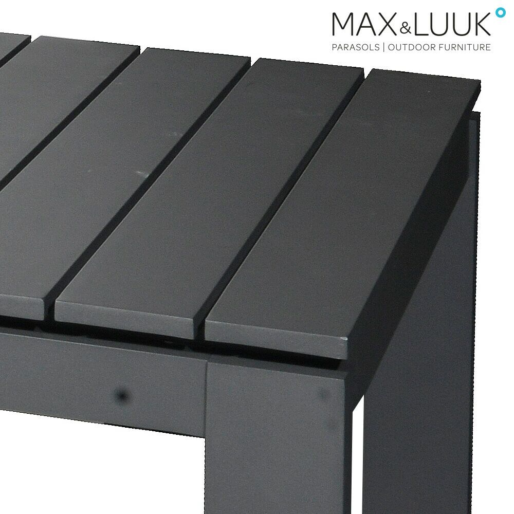 gro er gartentisch aus aluminium. Black Bedroom Furniture Sets. Home Design Ideas