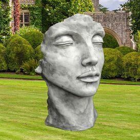 Gartendeko Tierskulptur Steineule Eulen Skulptur Gartengestaltung